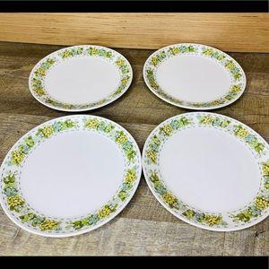 Set of 4 Vintage Noritake Springfield salad plates